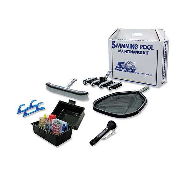 Premier Gunite Swimming Pool Maintenance Kit - Black