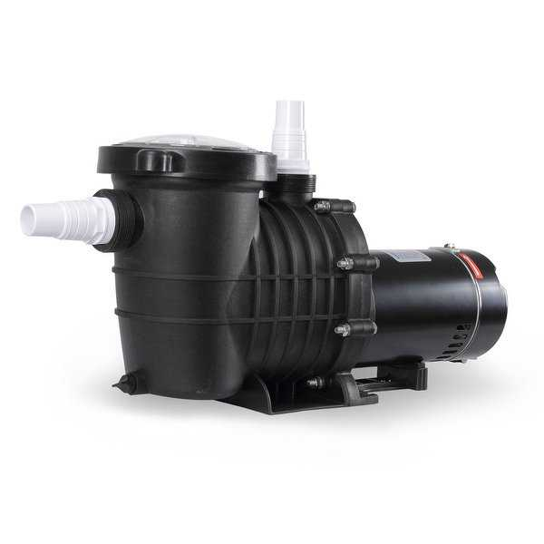 ARKSEN 1.5HP Energy Saving High-Flo UL Listed Swimming Pool Pump 1-1/2' NPT w/ Hose Adapters