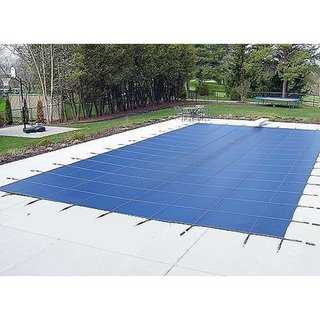 WATERWARDEN 'MADE TO LAST' Pool Safety Cover for a 15' x 30' Pool