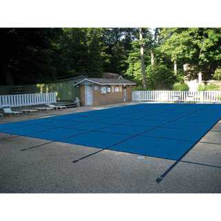 Water Warden 14ft x 26ft Rectangular Mesh In Ground Safety Pool Cover For 12 ft. x 24 ft. pool