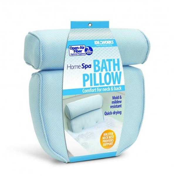 Jobar JB7419 Home Spa Bath Pillow Neck & Back Comfort